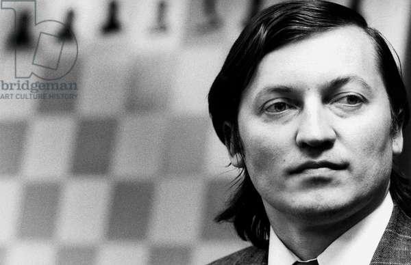 Anatoli Karpov Russian chess grandmaster October 27, 1989