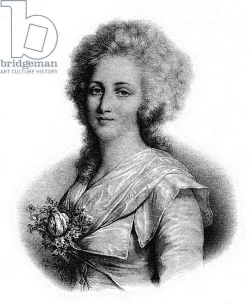 Elisabeth of France (litho)
