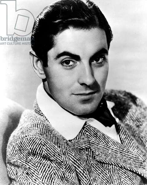 American Actor Tyrone Power (1913-1958) c. 1945
