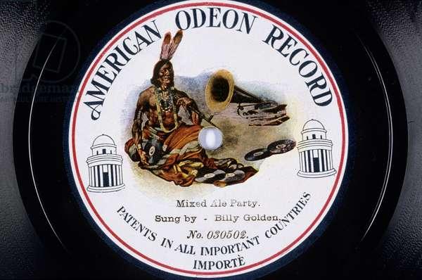 Disque vinyl : Mixed Ale Party chante par Billy Golden American Odeon Record NÁ 030502