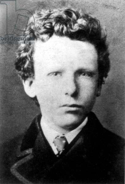 Vincent Van Gogh (1853-1890) painter here as a child in 1866