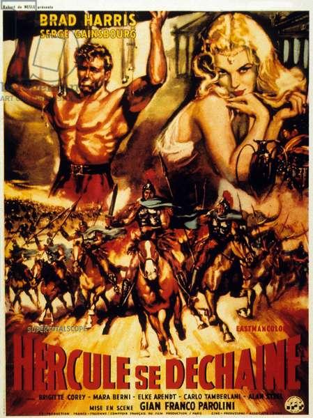 Hercule se dechaine La furia di Ercole de Gianfranco Parolini avec Brad Harris et Serge Gainsbourg 1962