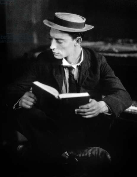 Funny Actor Buster Keaton (1895-1966) in the 20's