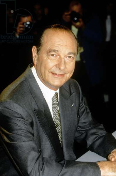 Jacques Chirac : the President's New Year address to the nation.