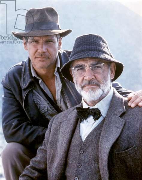 Indiana Jones et la derniere croisade Indiana Jones and the Last Crusade de StevenSpielberg avec Harrison Ford et Sean Connery 1989