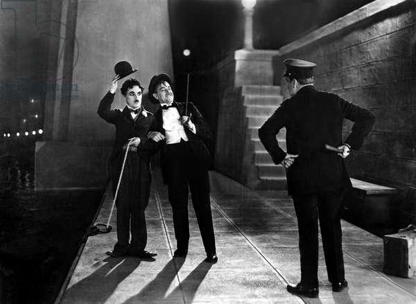Les lumieres de la ville City Lights avec Charlie Chaplin et Harry Myers 1931