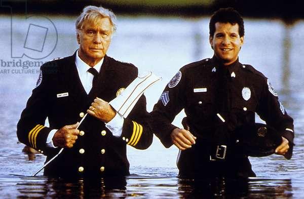Police Academy 4: Citizens on patrol de JimDrake avec George Gayne et Steve Guttenberg, 1987