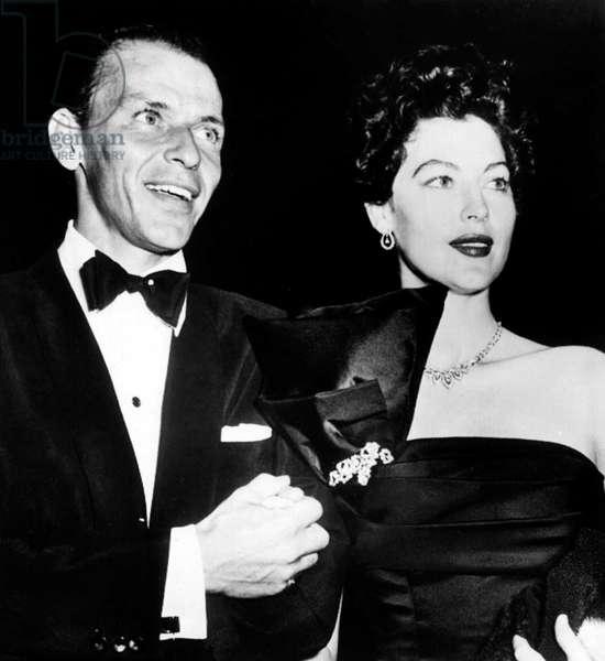 Frank Sinatra and Ava Gardner c. 1952