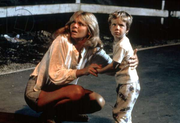 Rencontres du troisieme type CLOSE ENCOUNTERS OF THE THIRD KIND de Steven Spielberg avec Melinda Dillon et Cary Guffey, 1977