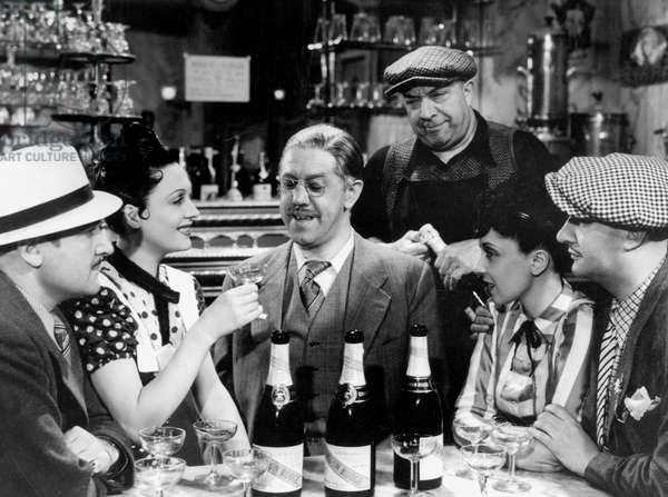 Circonstances Attenuantes Extenuating Circumstances de Jean Boyer avec Arletty et Michel Simon 1939 (champagne Cordon Rouge)