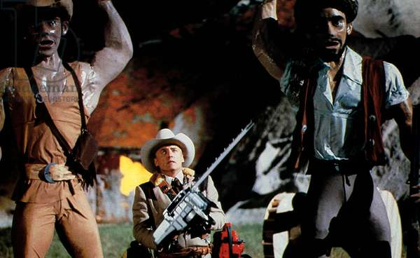 Massacre a la tronconneuse 2 THE TEXAS CHAINSAW MASSACRE II de Tobe Hooper avec Dennis Hopper, 1986