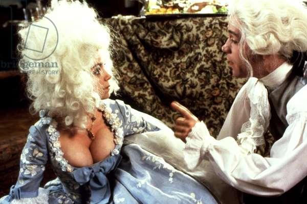 AMADEUS de MilosForman avec Tom Hulce (WolfgangAmadeusMozart) Elizabeth Berridge, 1984