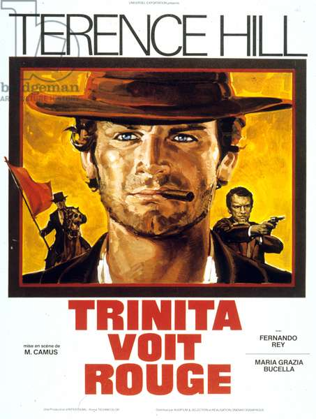 Revenge of trinity (La collera del vento) de Mario Camus avec Terence Hill 1970