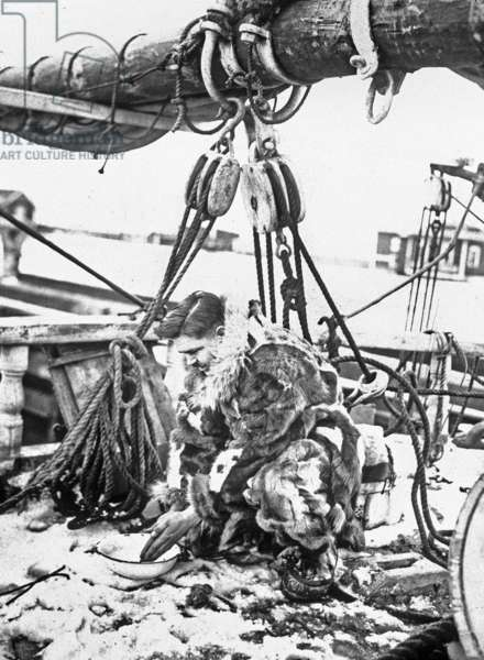 Admiral Robert Edwin Peary (1856-1920) American explorer of Arctic (north pole) here on the