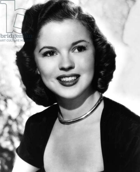 American Actress Shirley Temple in 1948