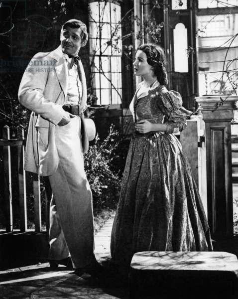 Autant en emporte le vent GONE WITH THE WIND de Victor Fleming avec Vivien Leigh (Scarlett O'Hara) et Clark Gable,1939 d'apres roman de Margaret Mitchell