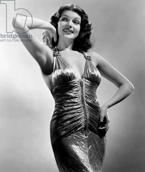 American Actress Rita Hayworth (1918-1987) c. 1941