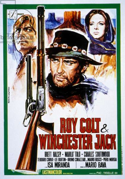 Roy Colt et Winchester Jack de Mario Bava avec Brett Halsey Charles Southwood et Marilu Tolo 1970