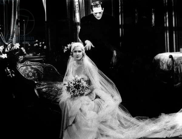 La Fiancee de Frankenstein The Bride of Frankenstein de JamesWhale avec Boris Karloff et Valerie Hobson 1935