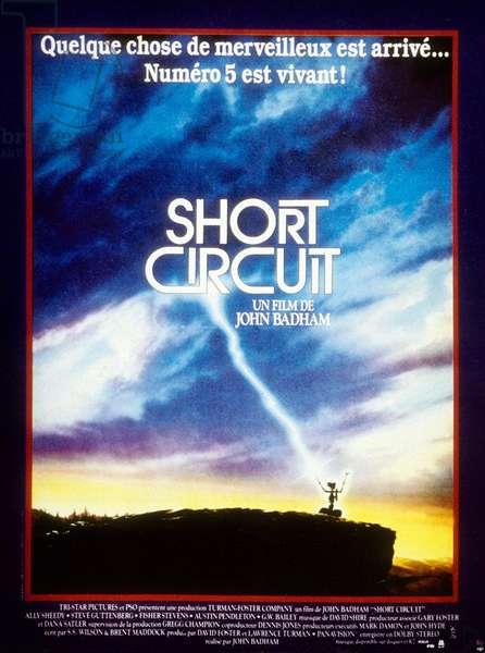 Short Circuit de John Badham avec Ally Sheedy et Steve Guttenberg 1986