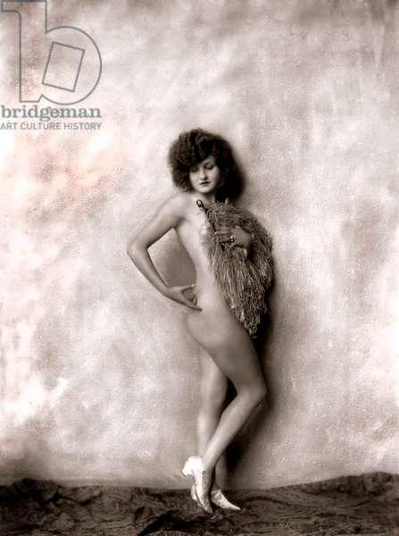 Bee Jackson, dancer at Ziegfeld Follies, 20's