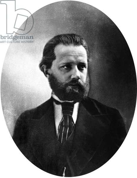 Piotr Illich Tchaikovsky (1840-1893) russian composer c. 1872