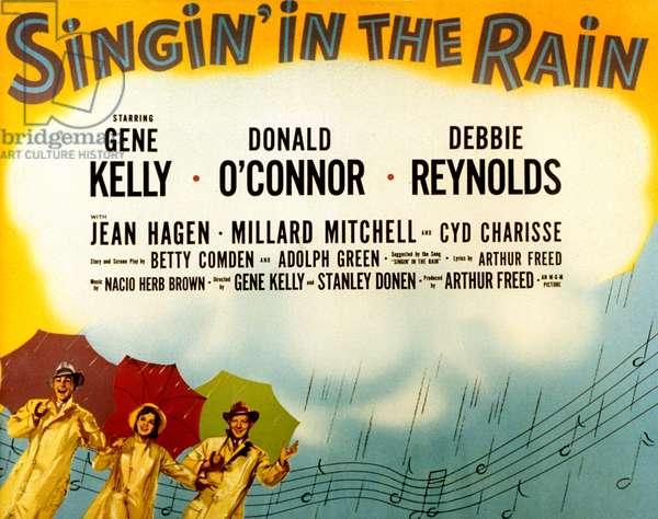 Chantons sous la pluie Singing in the rain avec Gene Kelly, Donald O'Connor et Debbie Reynolds 1952