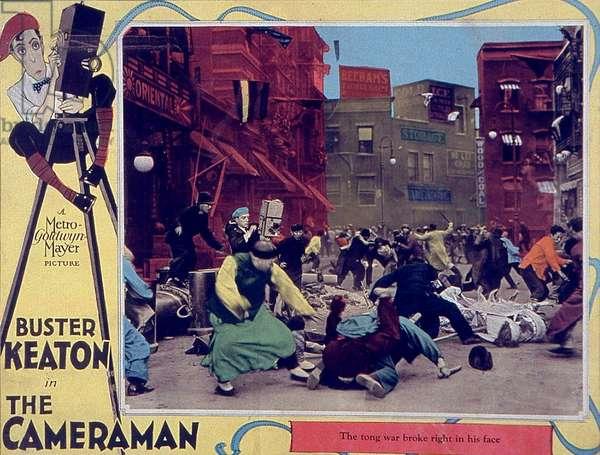 The cameraman de EdwardSedgwick avec Buster Keaton 1928