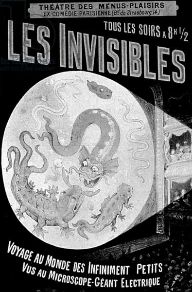 poster for a play in Paris