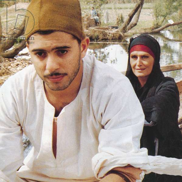 Le sixieme jour The 6th day de YoussefChahine avec Mohsen Mohiedine, Dalida 1986