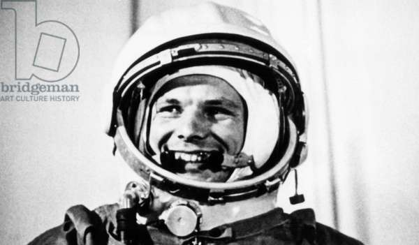 Yuri Gagarin, c.1961 (b/w photo)