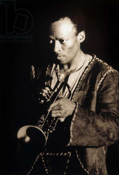 American jazz trumpeter Miles Davis in 1970