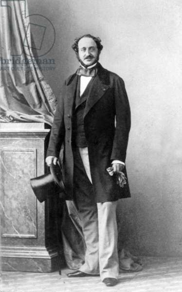 Agenor de Guiche duc de Grammont (1819-1880) French diplomat minister of foreign affairs late 19th century he was the lover of Marie Duplessis