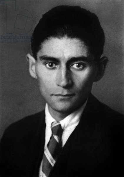last photo of czeck writer Franz Kafka (1883-1924) c. 1923-1924