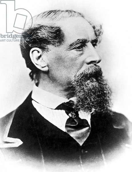 Charles Dickens (1812-1870) English novelist, photo by J. Gurney & Son. 1867