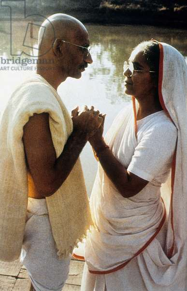 Gandhi de RichardAttenborough avec Ben Kingsley 1982