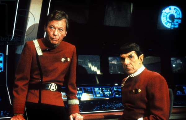 Star Trek 5 : L'Ultime Frontiere STAR TREK V: THE FINAL FRONTIER de William Shatner avec Leonard Nimoy (Dr Spock), 1989