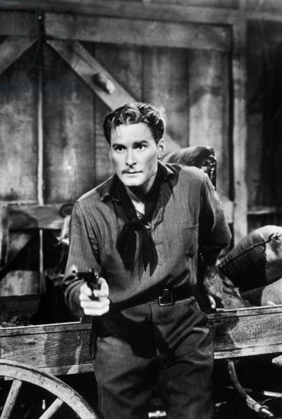 Santa Fe Trail de Michael Curtiz avec Errol Flynn, 1940.