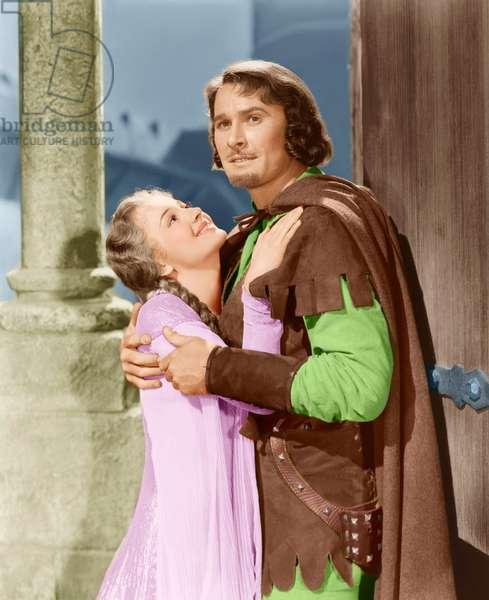 Les aventures de Robin des Bois The adventures of Robin Hood de Michael Curtiz avec Errol Flynn et Olivia de Havilland 1938