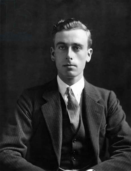 Lord Louis Mountbatten, Viceroy of India, c.1930 (b/w photo)