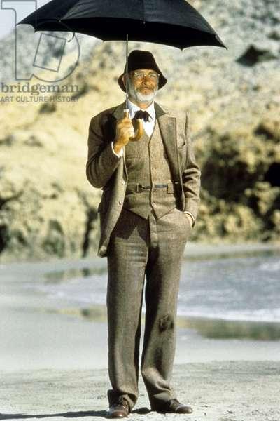 Indiana Jones et la derniere croisade IndianA JONES AND THE LAST CRUSADE de StevenSpielberg avec Sean Connery, 1989