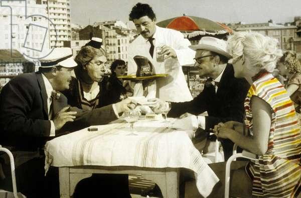 Trois de la Canebiere by Maurice de Canonge with Henri Genes, Michel Galabru, 1956.