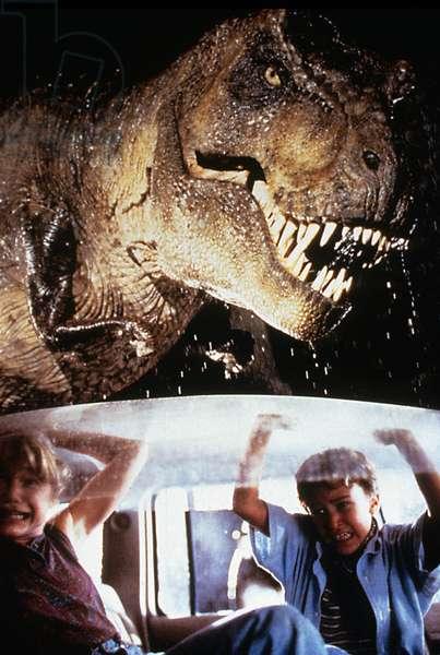 Jurassic Park de StevenSpielberg avec Joseph Mazzello et Ariana Richards 1993 (d'apres MichaelCrichton)