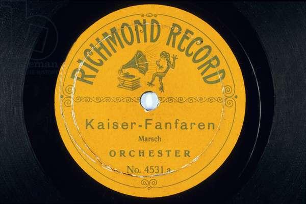 Disque vinyl : Kaiser Fanfaren Marsch Orschester N¡ 4531