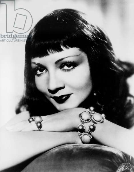 French Actress Claudette Colbert (1903 - 1996), c.1934