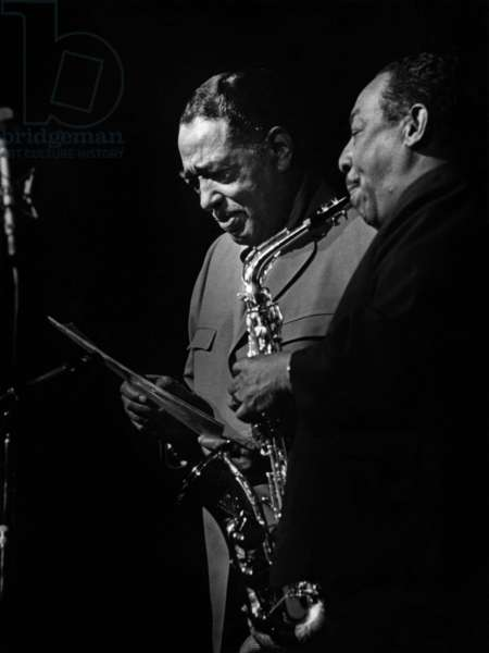 Duke Ellington et Johnny Hodges