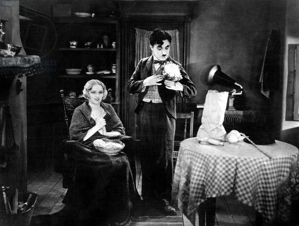 Les lumieres de la ville City Lights avec Virginia Cherrill et Charlie Chaplin 1931