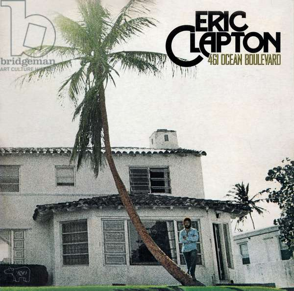 "Long-playing record of album ""461 Ocean Boulevard"" by Eric Clapton 1974"