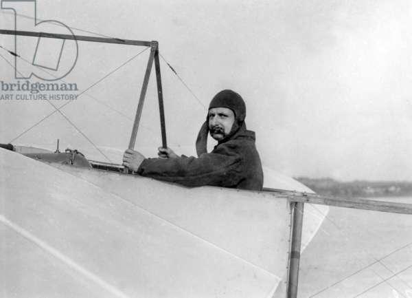 Aviator Louis Bleriot (1872-1936) c. 1910
