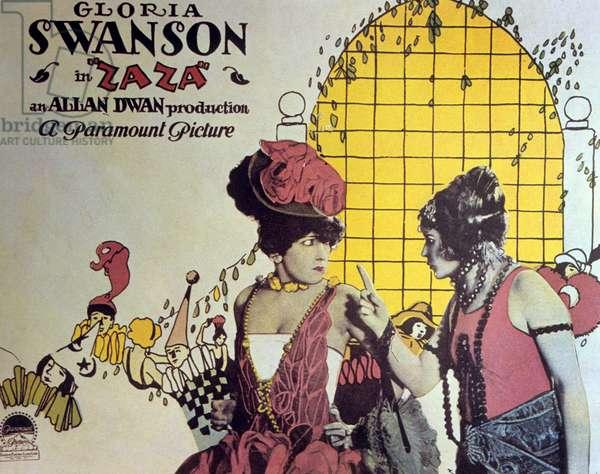Zaza de AllanDwan avec Gloria Swanson 1923